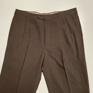 Haggar 38x32 mens dress pants brown